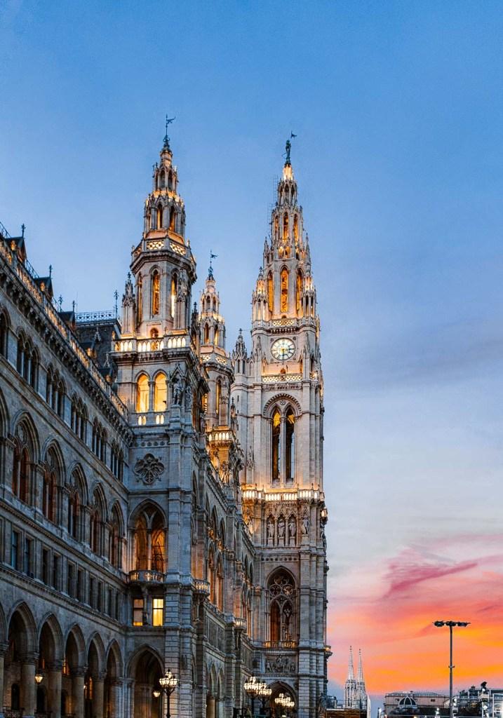 Rathaus der Stadt Wien