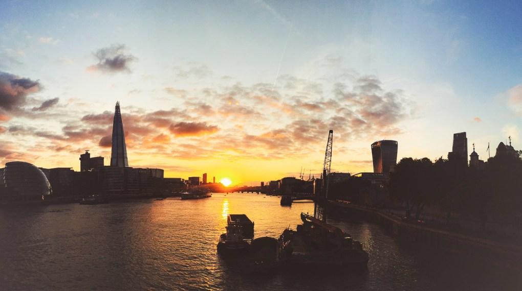 Top 12 best sunset spots in London 1