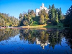 Trakošćan Castle an incredible monument in Croatia