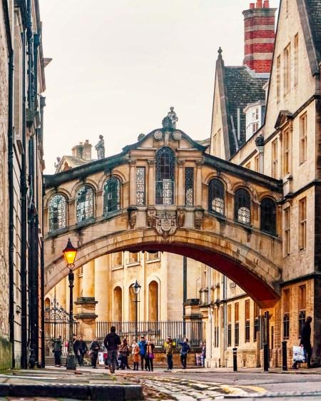 Bridge of Sight in Oxford, England