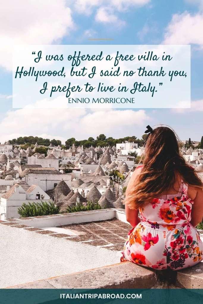 La dolce vita quotes in Italian