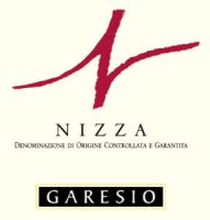 Garesio Nizza DOCG label