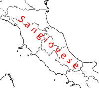 Red grape varieties of central Italy 1