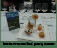 Trentino wine and food pairing seminar