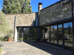 Winery building at Ca' Marcanda