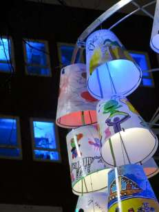 Children's' Lampshade Forest