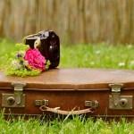 女子旅のスーツケース