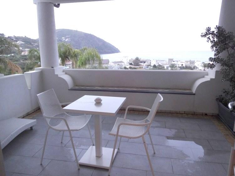 リパリ島のホテル