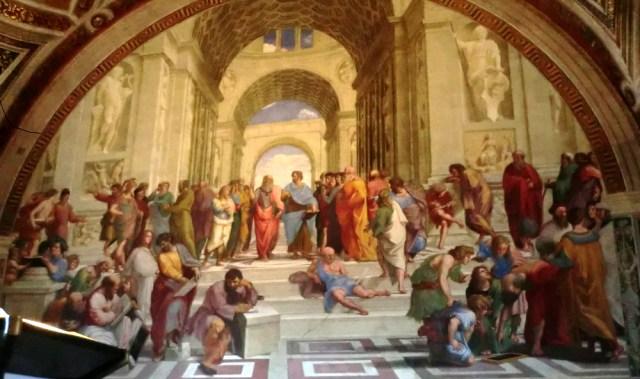 アテナイの学堂