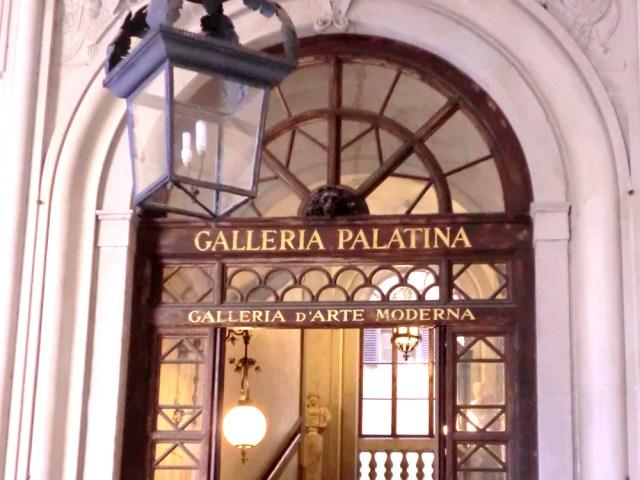 フィレンツェ パラティーナ美術館