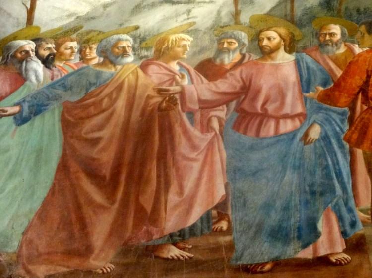 フィレンツェ ブランカッチ礼拝堂