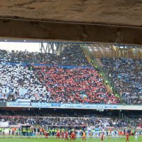 ナポリのサッカースタジアム