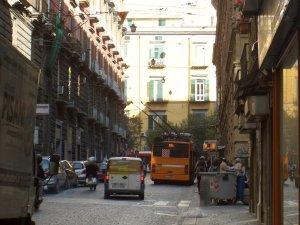 ナポリの市街地