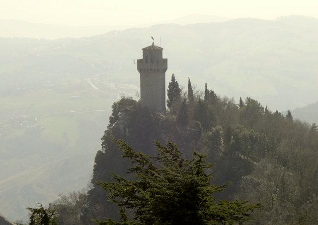 サン・マリノのロッカ・モンターレ