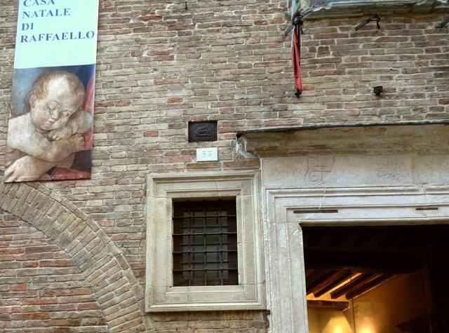 ウルビーノのラファエロの家