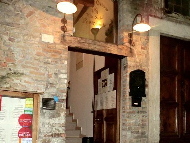 ウルビーノのレストラン