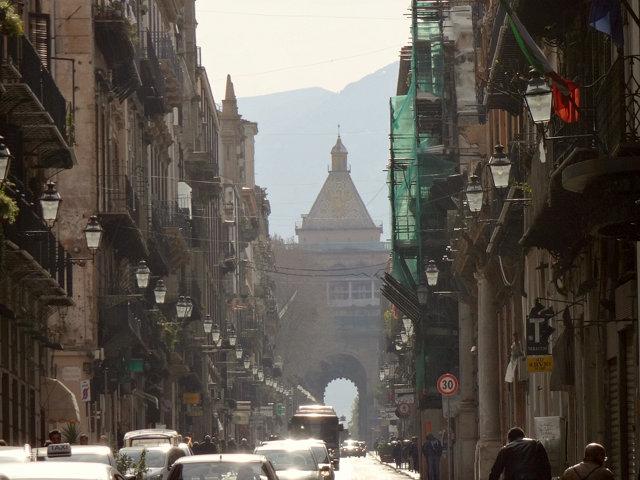 パレルモ旧市街
