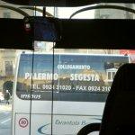 パレルモのバス乗り場