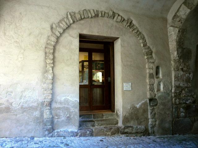 エオリエ州立考古学博物館切符売り場