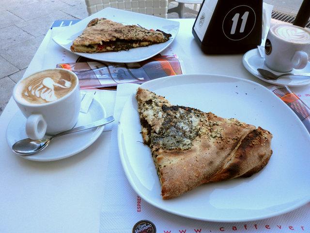 シラクーサのカフェ・アポロ