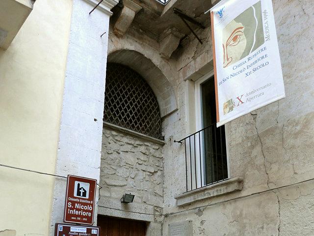 ルペストレ・ディ・サン・ニコロ・インフェリオーレ教会