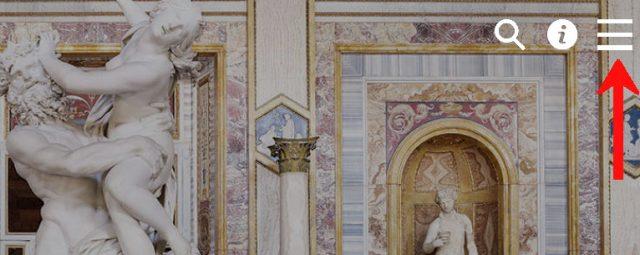 ボルゲーゼ美術館公式サイト