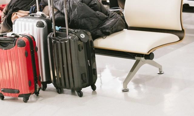ファスナー式スーツケース