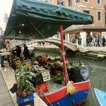ヴェネツィアの八百屋さん