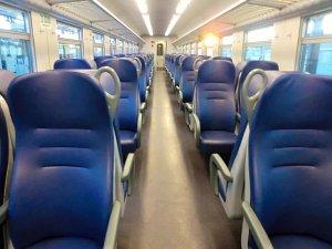 Trenitalia車内