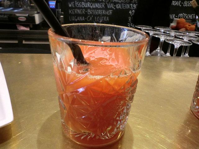 ボルツァーノで飲んだスプレムータ