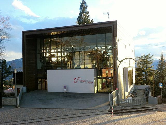 ソプラボルツァーノのロープウェイ乗り場