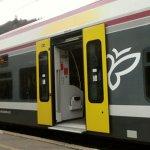 ボルツァーノ行き電車