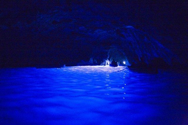 カプリ島青の洞窟