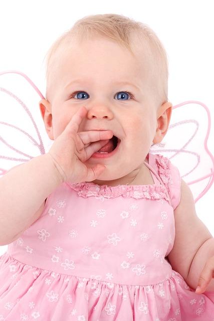 赤ちゃん 女児
