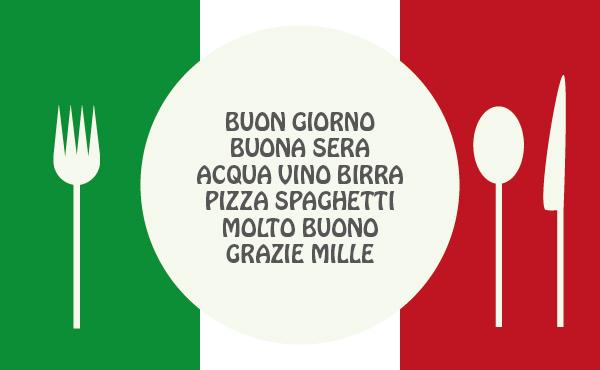 イタリア語を話そう - レストラン編