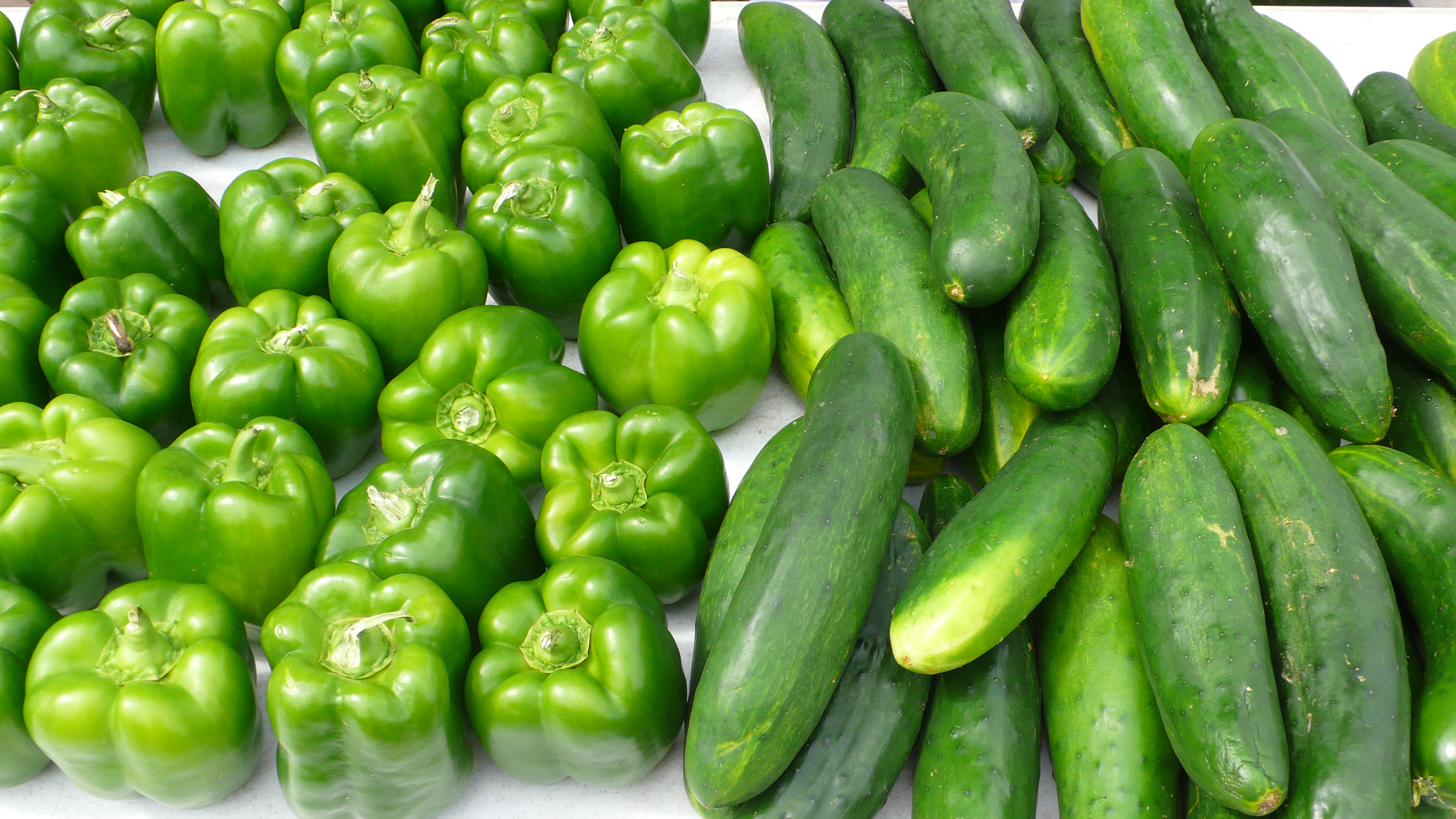 Peppers and Cucumbers