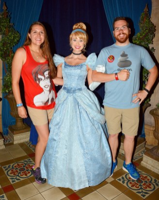 Meeting Cinderella at Cinderella's Royal Table #itallstartedwithamouse