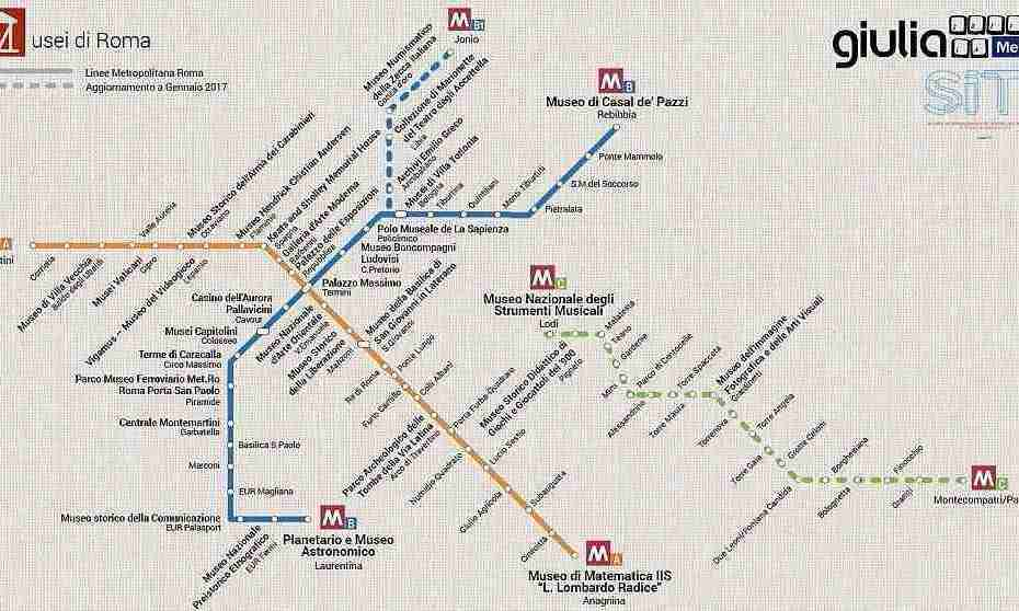 What The Roman Empire Would Look Like If It Was A Subway Map.Rome S Museums On A Metro Map Italofile