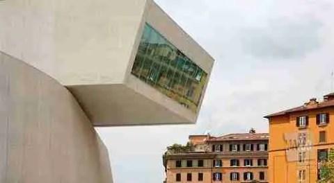 Zaha Hadid's MAXXI Museum, Rome