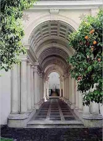 Galleria Spada - Borromini's Perspective