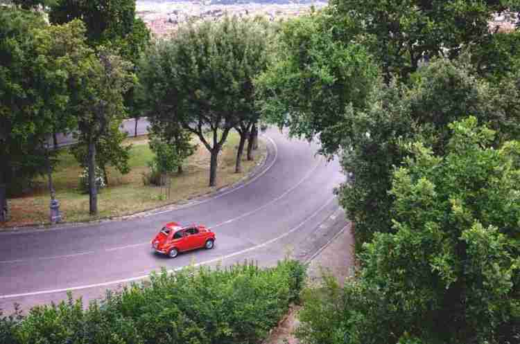Traveling by car in Italy