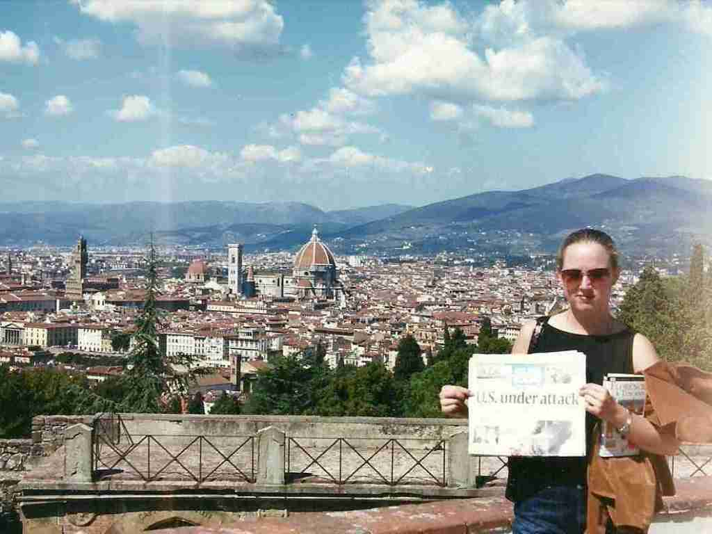 My September 11th in Florence