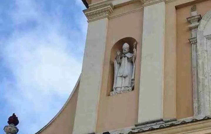 Basilica di San Valentino (facade)