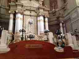 Reserved seat for ex-deportati in the Great Synagogue of Rome