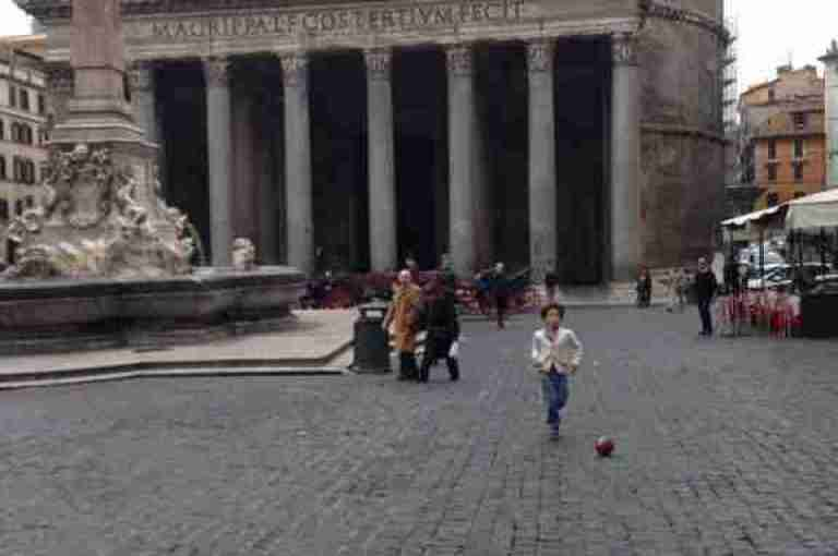 The Pantheon On Pentecost Sunday