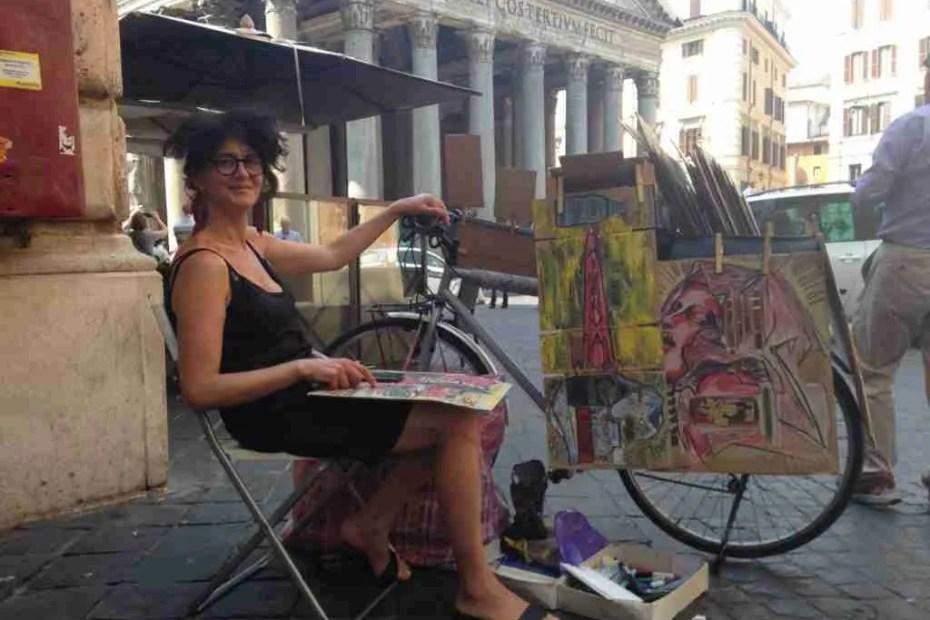 Rachele del Nevo, aka The Drawing Bike