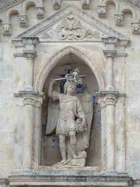 Saint Michael at the Sanctuary of Saint Michael in Puglia