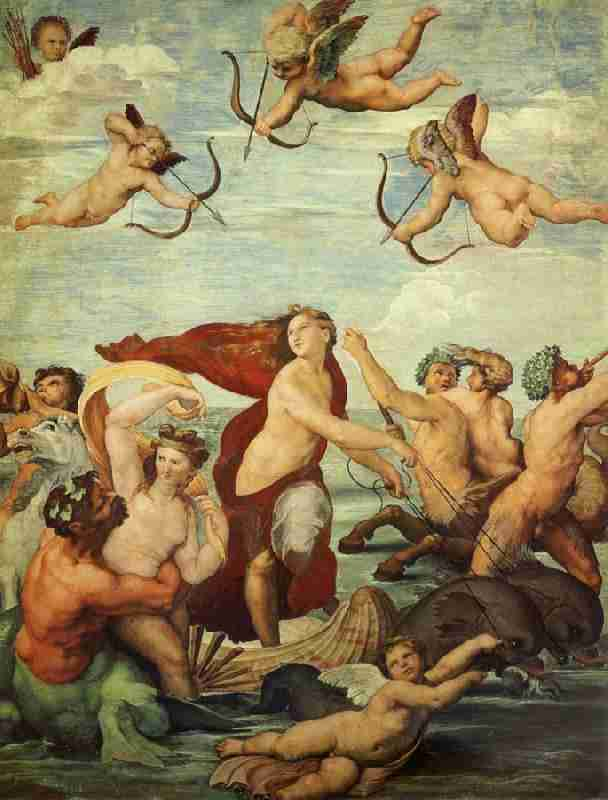 """<a href=""https://commons.wikimedia.org/wiki/File:Raphael_Galatea.jpg#/media/File:Raphael_Galatea.jpg"" data-recalc-dims=1>Raphael Galatea</a>"" by <a href="
