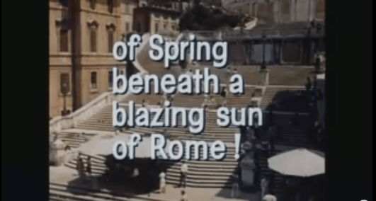 The Roman Spring of Tennessee Williams