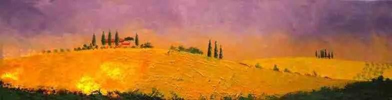 Tuscan Hills by Bill Renzulli